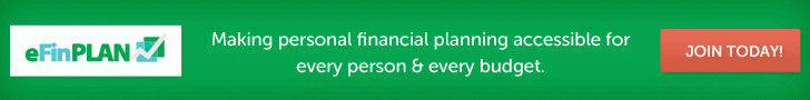 Sign Up for eFinPLAN