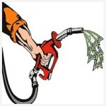 Spending Money on Gas